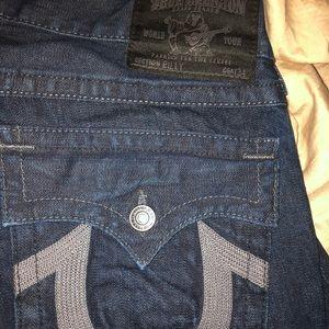 True religion cut off shorts , 30$ each size 34